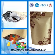 powder packing bag/Doypack with zipper/herbs packing bag