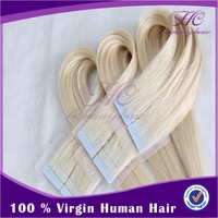 Buying In Large Quantity 2015 Cheap 100% Human Ombre REmy Adhesiive European PU Tape Hair Extension Wholesale
