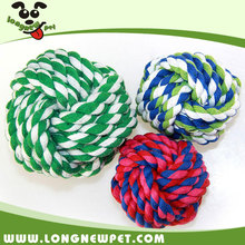 Dog Cotton Rope Chew Toy Best Dog Ball Toys Wholesale Dog Supplies