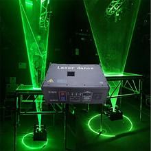 professional 3W/4W/5W Professional single green laserman show system dj laser man
