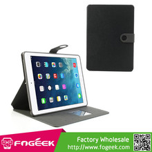 Fast Shipping Smart Awakening Leather Wallet TPU Inner Case w/ Stand for iPad Air