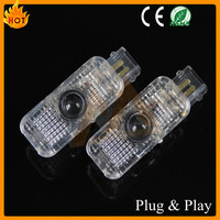 HIGH QUALITY SPECIAL PLUG AND PLAY CAR LOGO DOOR LAMP GHSOST SHADE LIGHT