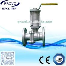 long stem panel mount ball valve