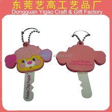 Factory customized key cover, PVC key cover for home crafts
