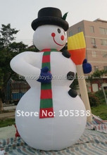 Giant Inflatable Holiday Decoration Inflatable snowman Inflatable Christmas snowman for Advertising