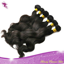 first selling 6a 7aGrade virgin sewing machine wholesale unprocessed philippine cheap body wave weaving hair