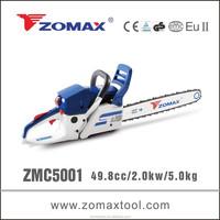 live beta 2.0kw ZMC5001 forest cutting machine for wood cutting