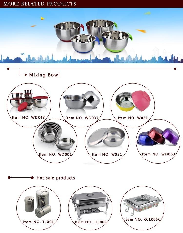 Nobo ustensiles de cuisine en acier inoxydable dr le bols - Batterie de cuisine en solde ...