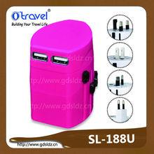 10w Factory direct selling swiss multi universal international travel electric adapter