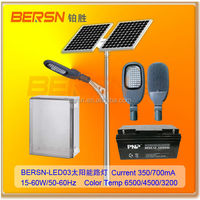 IP65 Angle Adjustable 30W LED Street Lighting with solar system
