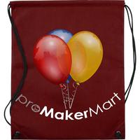 100% Non-woven Draw String Bag, Getaways Planet-Friendly 75gsm PE 100% Non-woven Draw String Bags with Thermal-Transfer Printed