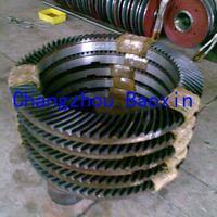 17 1/2 spiral bevel gear for rotary tables