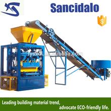 Easy use but cheap block machine or manual brick making machine