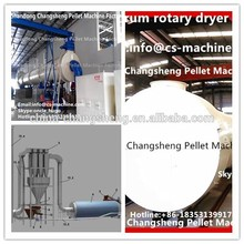 astillas de madera virutas de cáscara de arroz tambor de secado de la máquina de aserrín secador precio venta