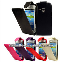 Laudtec Flip Leather Case Cover for Samsung Galaxy S Duos S7562