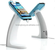 Showhi Alarmed & Charging Retail store security display holder with alarm H8400-MIniUSB
