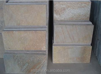 Natural Slate Brown Color | Cheapest Chinese natural Rusty slate | 30*30*1.2cm