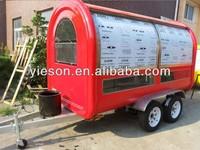 cheap fiberglass trailer food