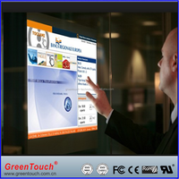 42 inch interactive touch foil,usb touch screen film for advertising