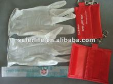 promotion Resuscitation product CPR FACE SHIELD IN Nylon bag with Gloves
