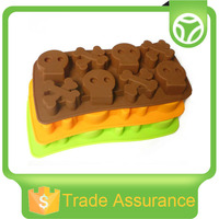 High quality new style food-grade silicone ice cube tray
