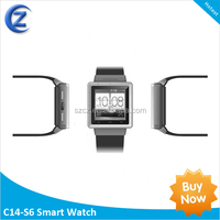 new arrival! smart watch mobile phone for iPhone\/Samsung android smartphones