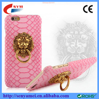 2015 new arrived head case designs lion door knockers snap-on cover case for iphone 6 6plus