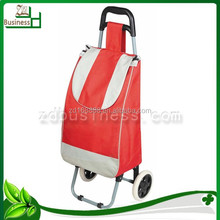 wholesale 600D polyester vegetable shopping trolley bag