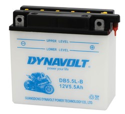 Dynavolt DB5.5L-B dry cell motorcycle battery 12v5.5ah