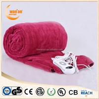 Wholesale Portable Electric Heated Blanket with CE,GS
