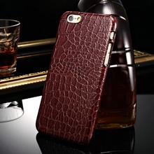 PC plastic crocodile grain 5.5 inch made in china hot new for Iphone 6plus case