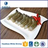 Wholesale Frozen Headless White Shrimp From China Factory
