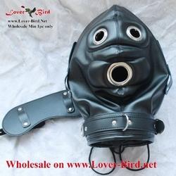 latex mask hood catsuit sexy latex hood