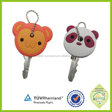 key cover customized 3d 2015 rubber soft pvc key cover