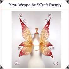 2015 High quality weapo factory direct sale silk stocking handmade butterfly wings for party decoration BW-398