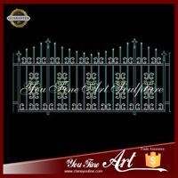 New Hot Sale Main Wrought Iron Gate Railing Designs