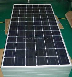 170W -210W Mono Solar Panel With Black Solar Power System