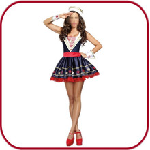 hot selling sexy navy costume female costume halloween costume PGFC-3013