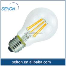 UL cUL listed A19 E26 120V dimmable led filament light