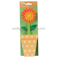 Promotional Flower Kitchen Cleaning Brush