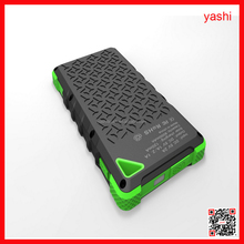 ALIBABA Waterproof Solar Power Bank Portable Solar 8000mah Battery For Mobile Phone Charger Power Bank