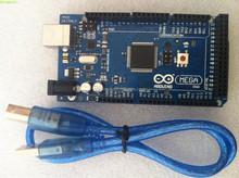 Mega 2560 R3 Mega2560 REV3 ATmega2560-16AU Board for arduinos + USB Cable compatible for arduinos