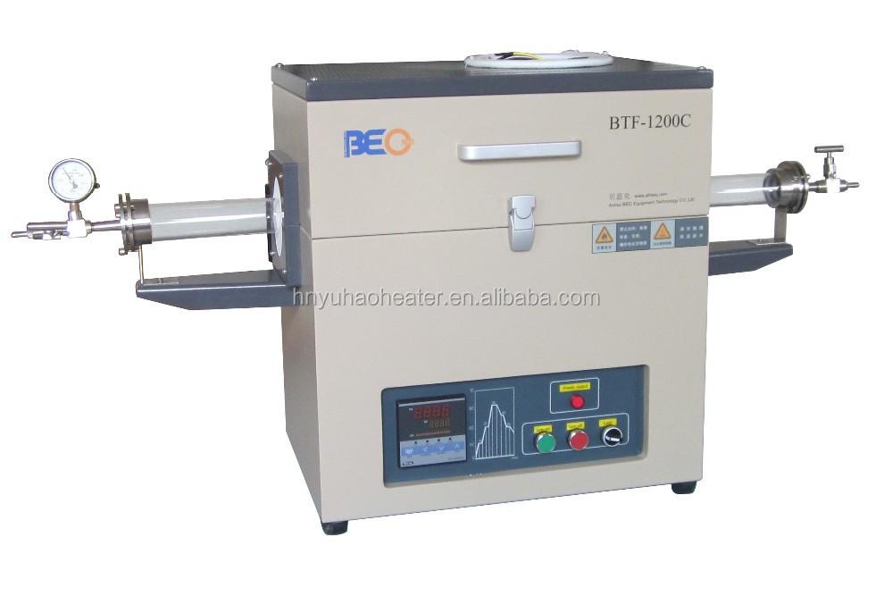 C high temperature tube furnace vacuum