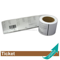 Hong Kong Manufacture Factory Price Car Parking Ticket in Roll