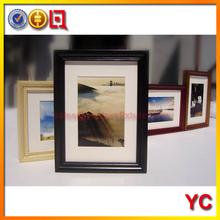 personalizados de madera marco de madera negro marco de la familia de madera marco de fotos