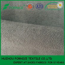 China manufacturer suede fabric for sole dance shoes