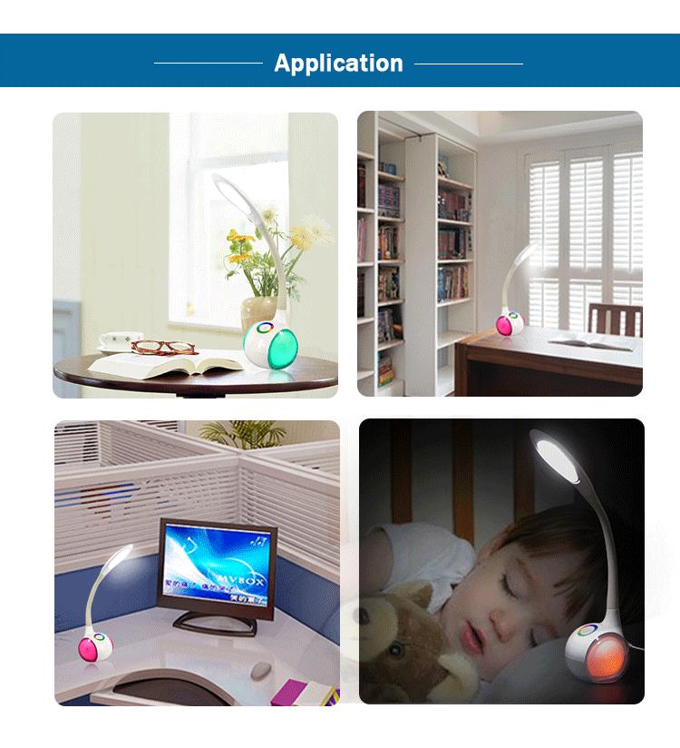 사무실 눈 보호 데스크 램프 USB 콘센트 어린이를위한-기타 조명 ...