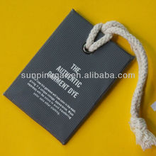 2015 Fashion Hang tags / printing paper tags for garment / clothing hang tags