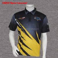 Custom motocross jersey sublimated racing wear