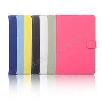 Hot Selling Plain design Flip Stand TPU+ PU Leather Case for iPad Mini 4, for iPad Mini 4 Case Newest